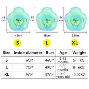 Best Baby Body Float Chart