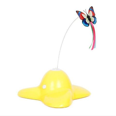 Butterfly Interactive for Pets Yellow