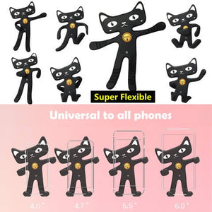 Cute Cat Phone Holder Flexible and adjustable