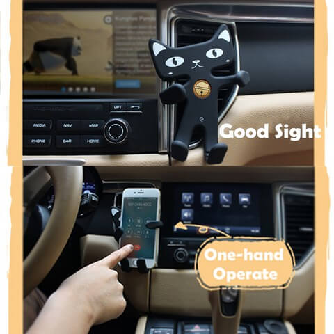 Cute Cat Phone Holder ideal gadget