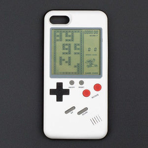 Gameboy iPhone Case White 6 7 8 X Quality