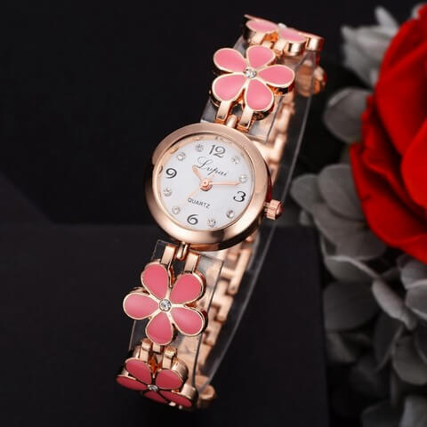 Luxury Spring Gold Watch