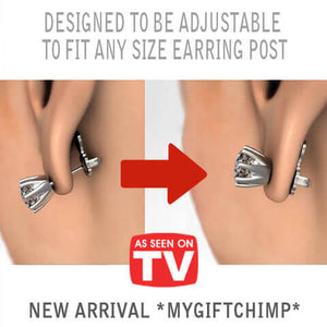 MagicBacks - Designed to be adjustable to fit any size earring post