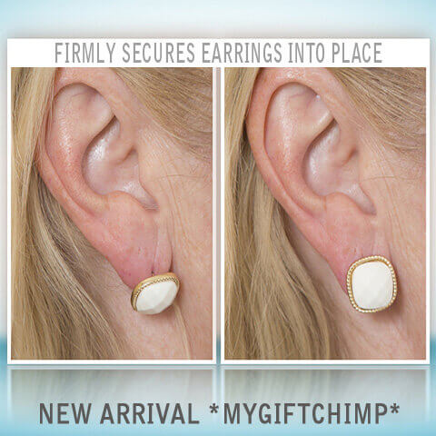 MagicBacks - Firmly secures earrings into place