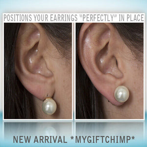 "MagicBacks - Positions your earrings ""perfectly"" in place"