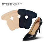 New T-Shape Heel Cushion - 4 Pairs