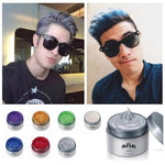 Professional Unisex Silver Ash Hair Wax Washes easily