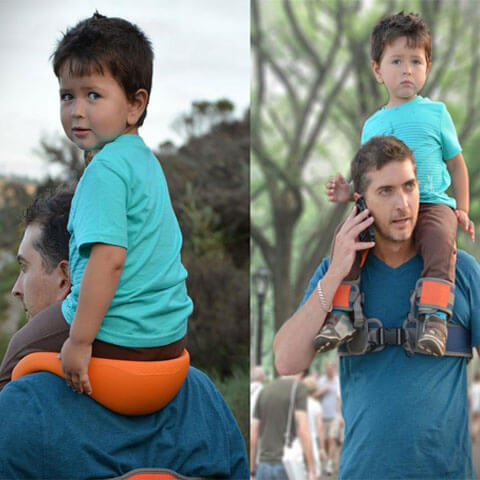 Hands Free Shoulder Carrier safe for babies