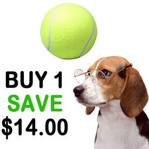 Super Giant Tennis Ball for Pets offer 1