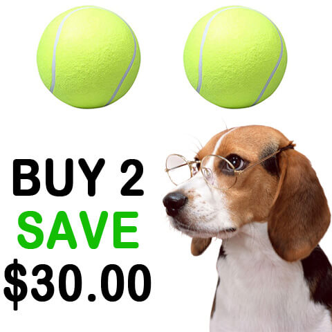 Super Giant Tennis Ball for Pets offer 2