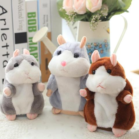 The Cutest Talking Hamster Plush Toy