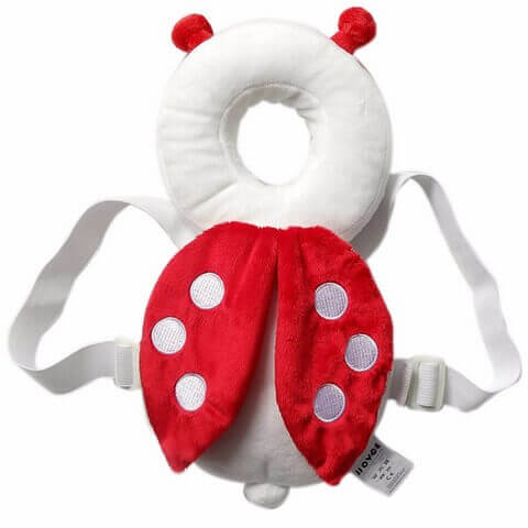 Toddler Head Protection Pads Red