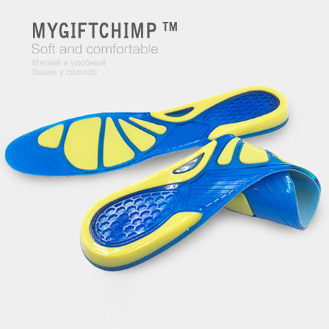 Ultra Shock Absorbing Insoles High-density elastic material