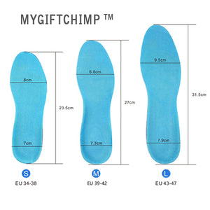 Ultra Shock Absorbing Insoles aerated design