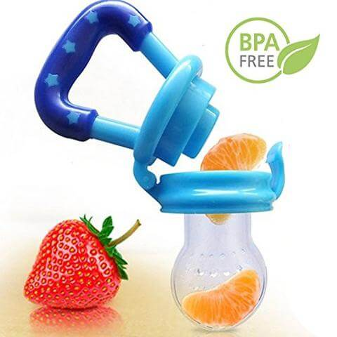Wonderful Baby Fresh Fruit Pacifier 3 Pack - Easy for babies to grasp
