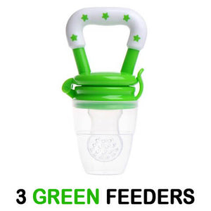 Wonderful Baby Fresh Fruit Pacifier 3 Pack Green