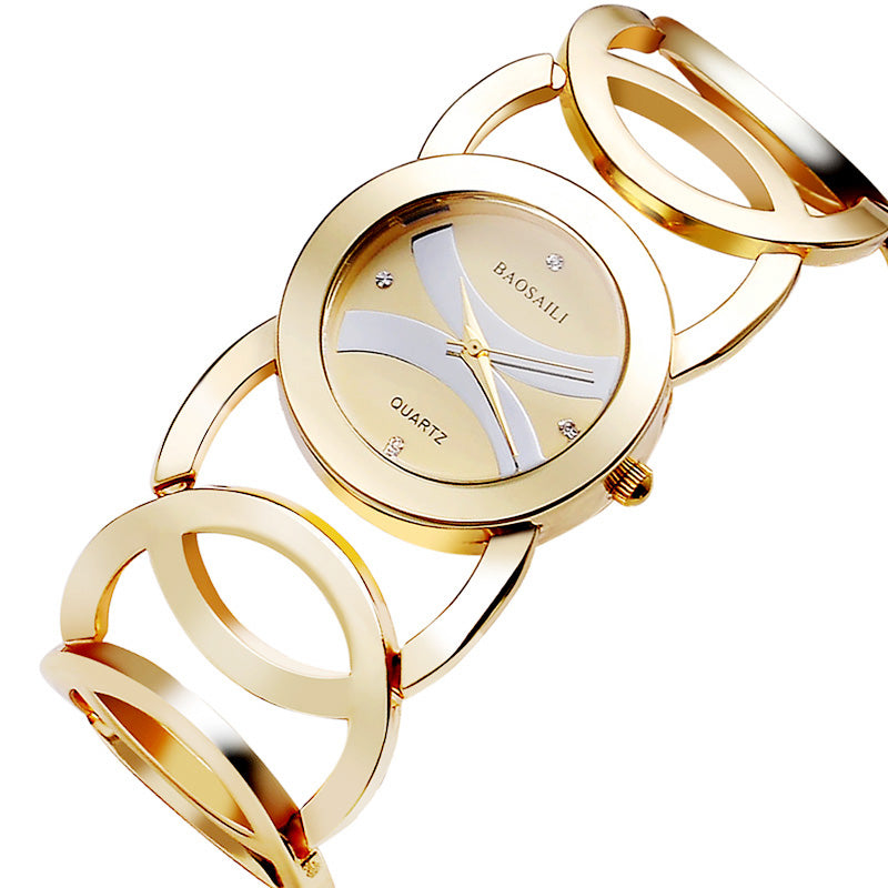 Extreme Circles Women Watch gold