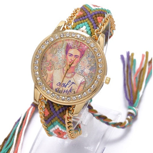 Rainbow Hippie Women Watch