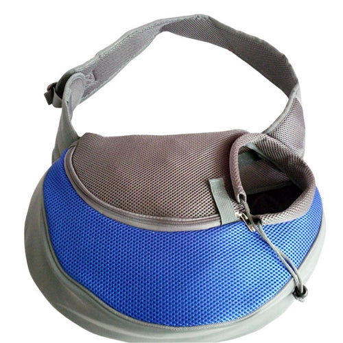 The #1 Front Carrier Pack For Dogs blue
