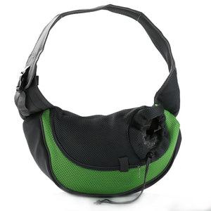 The #1 Front Carrier Pack For Dogs green