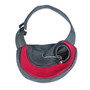 The #1 Front Carrier Pack For Dogs red