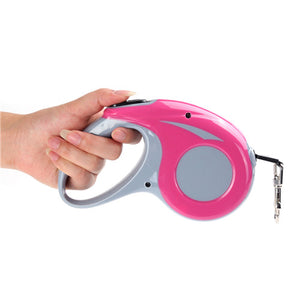 Auto Retractable Pet Leash Rose