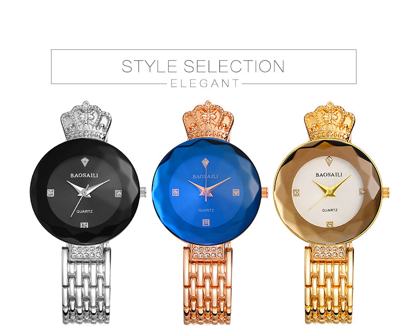 Shining Luxury Women Watch