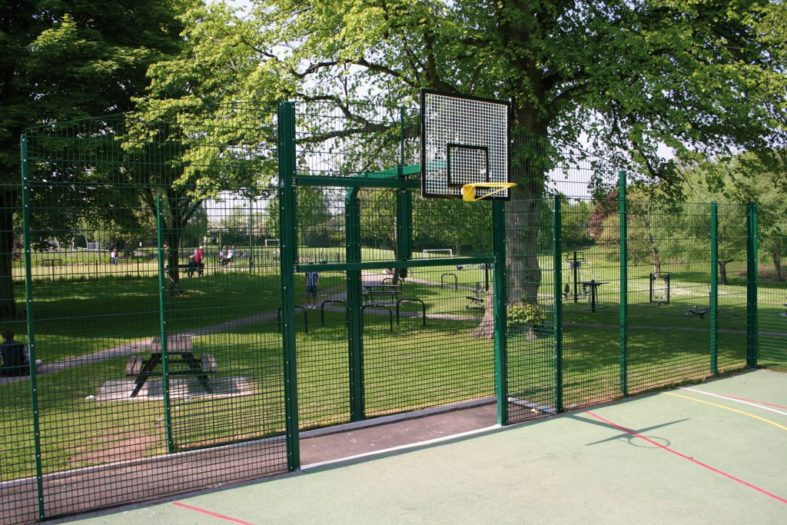 Ball Court Fencing and Sports Fencing from Almec Fencing