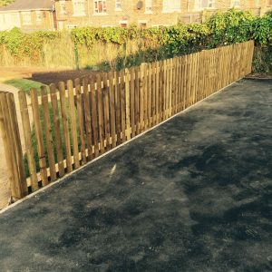 TIMBER PICKET FENCING FITTED IN DERBY