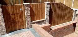 Domestic Fencing Works Completed in Silverdale