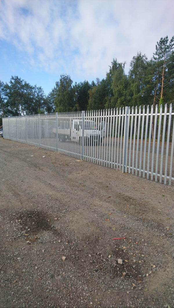 Steel Palisade Fencing fitted in Stockton on Tees