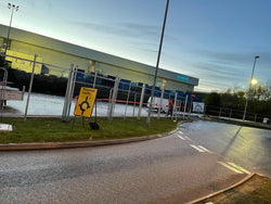 Palisade Fencing erection for Brackmills Asda Distribution Centre