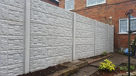 Rock and Plain Face Gravel Boards | Almec Fencing | Domestic & Industrial Fencing Contractors