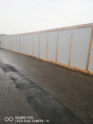 Timber Hoarding Fencing Supplied & Installed in Nottingham
