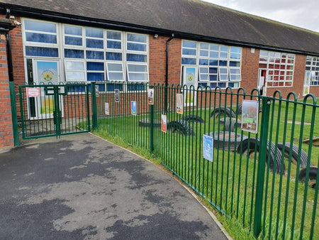 Playground & School Fencing | Almecfencing.co.uk