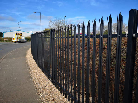 Palisade Fencing Suppliers & Installers | Almecfencing.co.uk