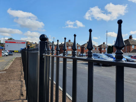 Metal Railing Systems | Suppliers & Installers | Almecfencing.co.uk