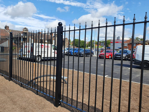 Railings and Gates Supplied and Installed for KIA Motors in Stoke-on-Trent