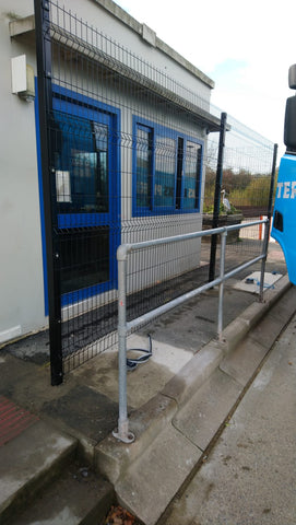 V-Defence Mesh Fencing Supplied and Installed in Didcot, Oxfordshire | Almecfencing.co.uk