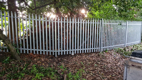 2.0m Palisade Fencing Supplied and Installed at Milton Park