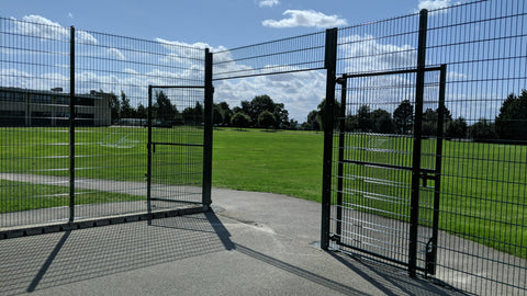 Sports Court Fencing Install in Derby