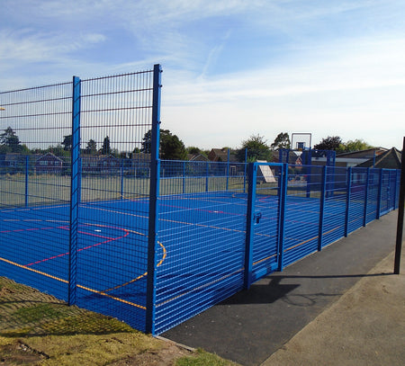 Ball Court & MUGA Fencing | Almec Fencing | Domestic & Industrial Fencing Contractors | Almecfencing.co.uk