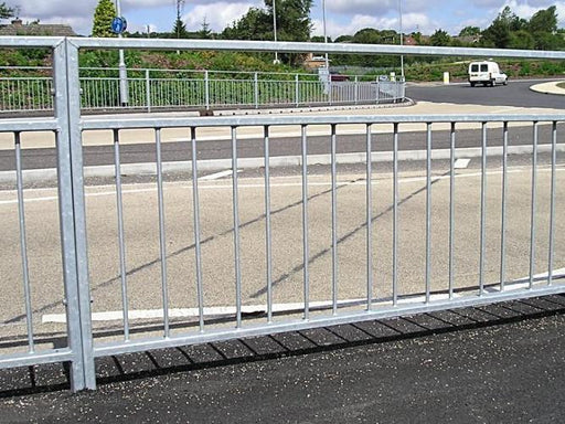 PEDESTRIAN GUARD RAIL |  AlmecFencing | Stoke On Trent