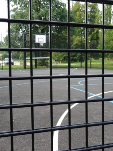 Dual Defence Rebound Ball Court Mesh Fencing