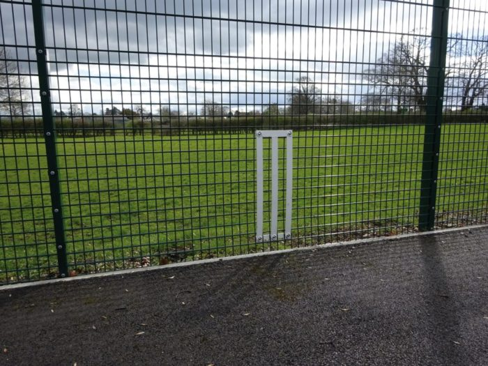 Dual Defence Ball Court Fencing Mesh Fencing