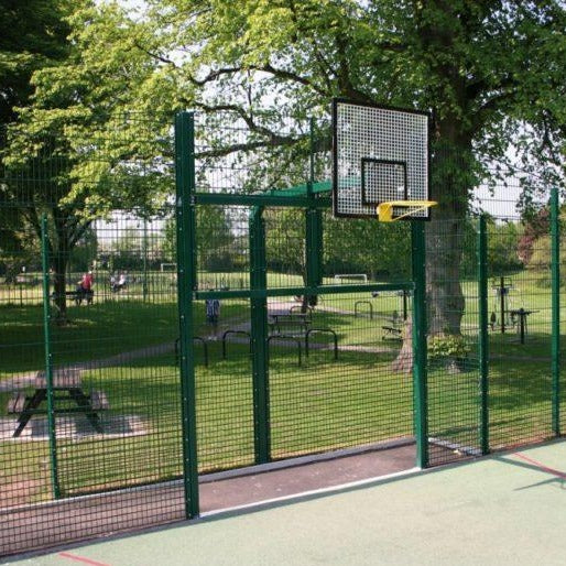Dual Defence Ball Court Fencing Mesh Fencing | Almecproducts.co.uk