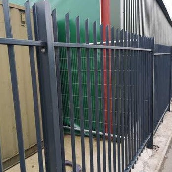 DIAMOND RAILINGS | Almec Fencing | UK Suppliers & Erectors of Domestic & Industrial Fencing