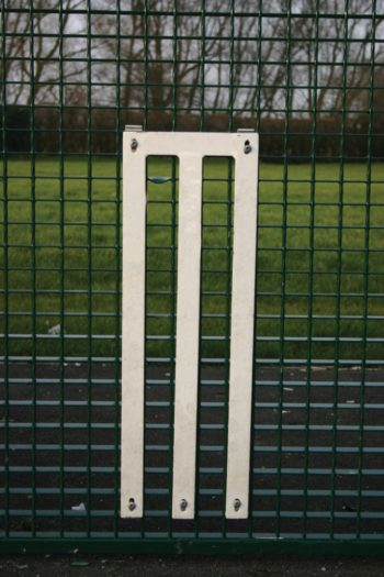 Dual Defence Ball Court Mesh Fencing With 3m Goal End