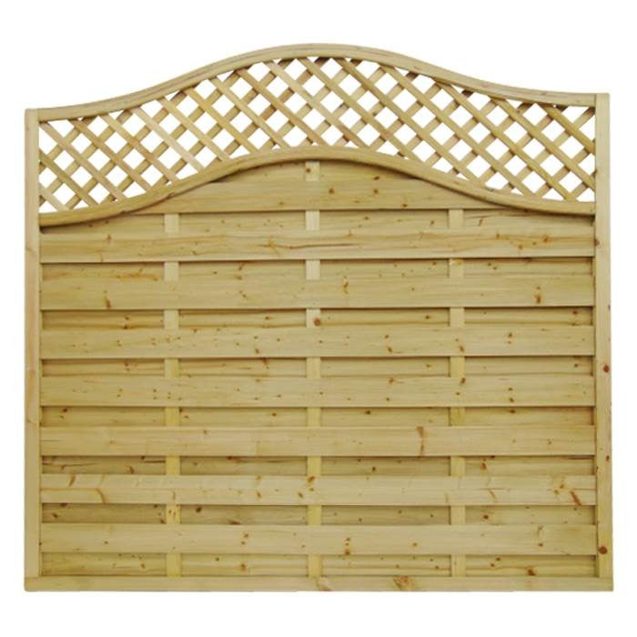 OMEGA LATTICE TOP FENCE PANEL |  AlmecFencing Limited | Stoke-on-Trent