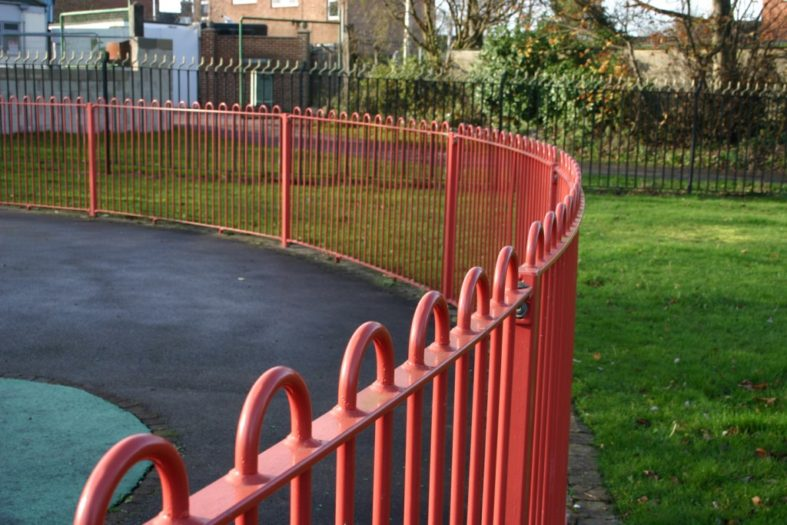 PLAYSPEC RAILINGS |  AlmecFencing Limited | Stoke-on-Trent